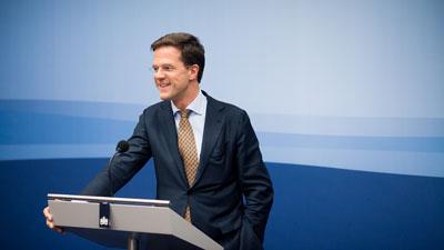 Persconferentie Rutte na ministerraad 10 juni
