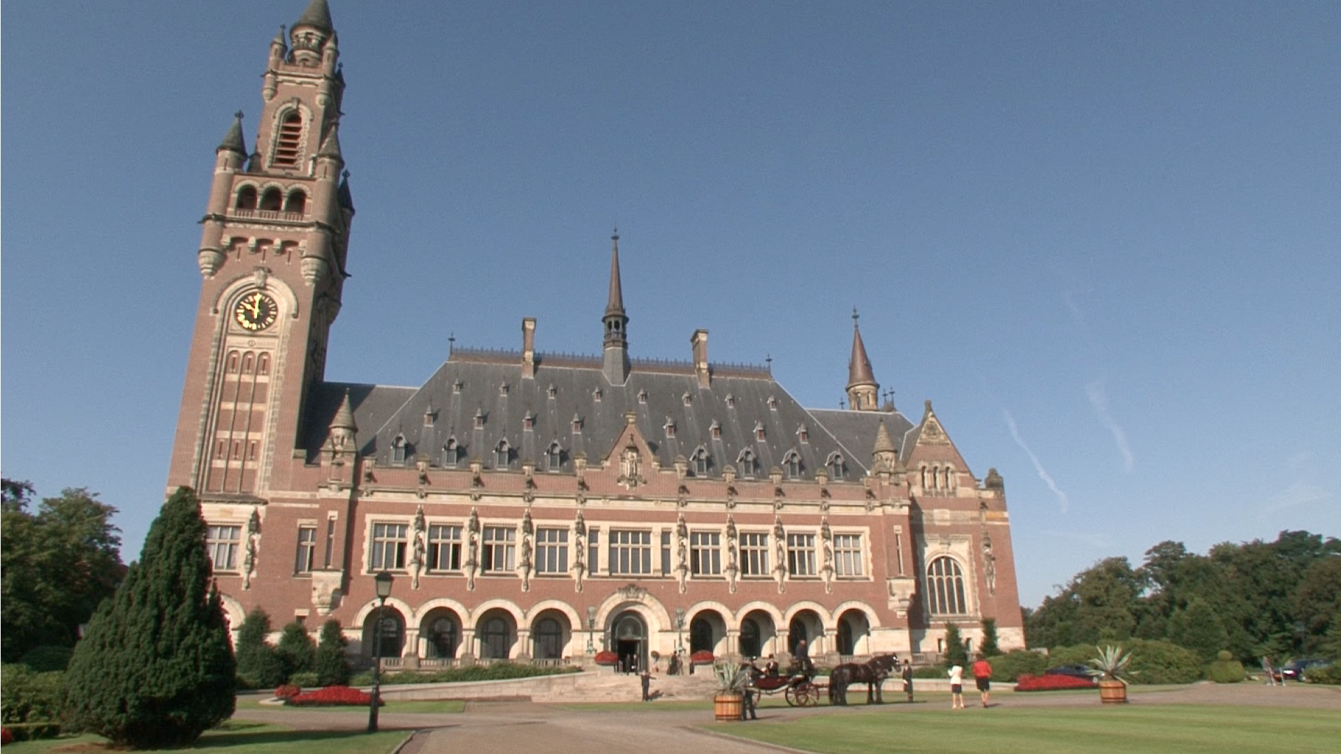 Peace Palace celebrates 100th anniversary